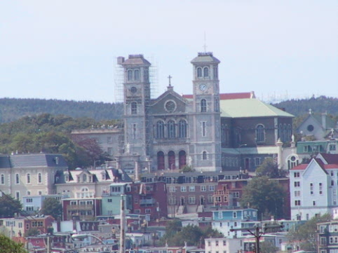 Basilica, one of the very oldest buildings in St Johns