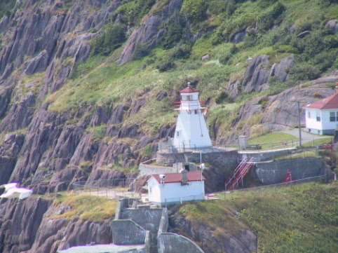 Lighthouse at Fort Amherst